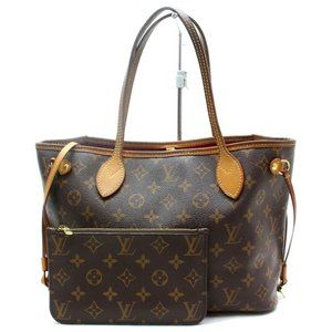 Auth Louis Vuitton Neverfull Pm Tote Bag #3391L43
